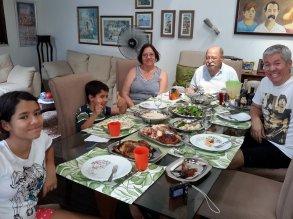 Almoço de Domingo com os Avós