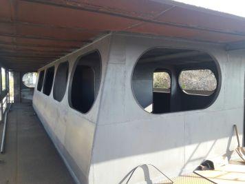 Detalhes da embarcação. Foto: Luiz Rogério Rocha Pereira