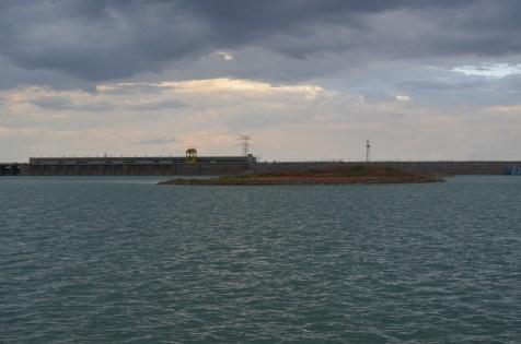 Voltando à barragem