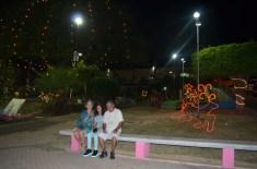 Praça no centro de Triunfo