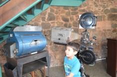 Antigos projetores