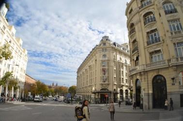 Pelas ruas de Madrid