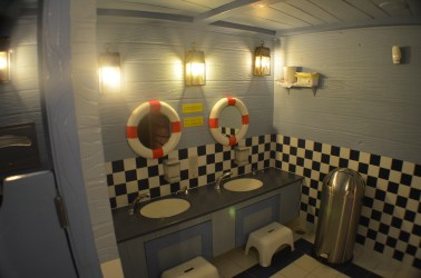 Banheiro dos meninos
