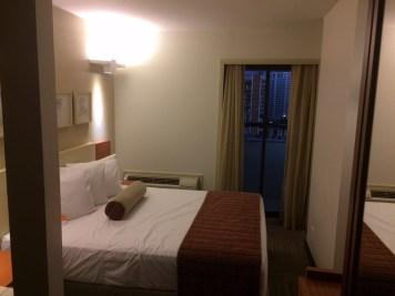 Nossa cama no Comfort Suites