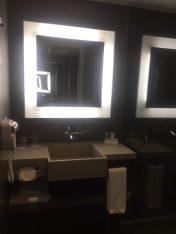 Espelho super iluninado