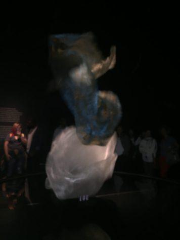 O tecido que dança