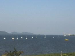 Vista do porto de Antonina