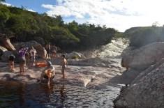 Curtindo no Ribeirão do meio