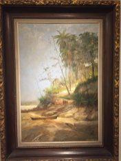 Paisagem Litorânea, Niterói, RJ, 1891 (Antonio Diogo da Silva Parreiras)
