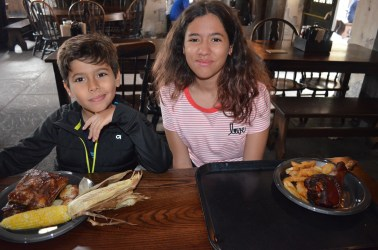 Almoço no Three Broomsticks