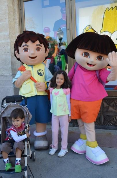Dora Aventureira e Diego