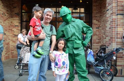 Os soldadinhos verdes