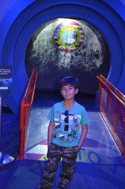 Acesso à cabine dos astronautas