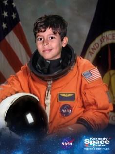 Família de astronautas