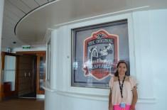 Passeio pelo navio