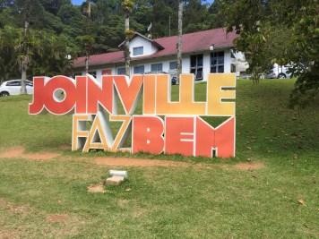 Letreiro de Joinville