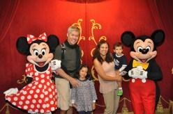 Encontro com MickeyMouse e Minnie