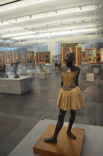 Bailarina (1880), de Edgar Dega