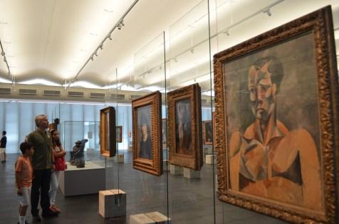 O atleta (1909), Picasso