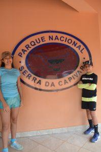 Serra da Capivara com crianças