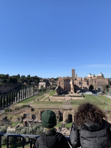 Coliseu-Vista do Templo de Vênus e Roma