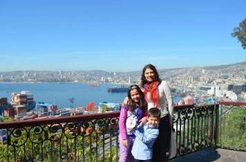 Bate e volta de Santiago do Chile: Valparaíso