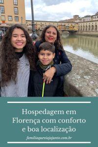 Hospedagem em Florença com conforto e boa localização