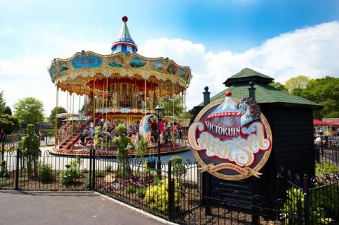 Victorian Carosuel - Paultons Park