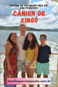 Cânion de Xingó, passeio de catamarã pelo rio São Francisco