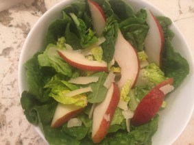 Pear, Romain & Manchego Salad