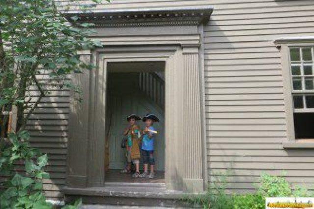 Conociendo la historia de la independencia de los Estados Unidos cerca de Concord (MA)