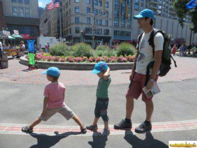 "Recorriendo Boston siguiendo el ""Freedom Trail"""