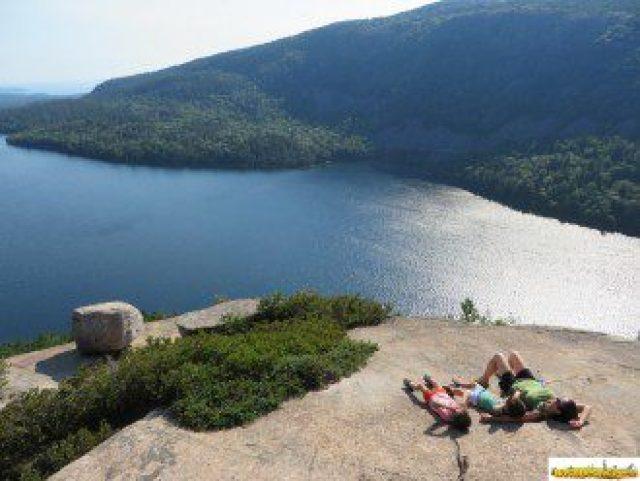 Acadia National Park, uno de los Parques Nacionales lagos y montañas de granito junto al Atlántico
