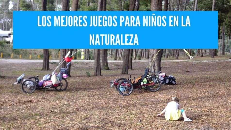 juegos para niños en la naturaleza