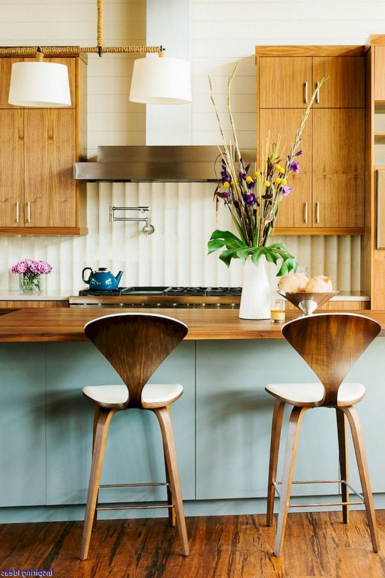 70 Amazing Midcentury Modern Kitchen Backsplash Design ...