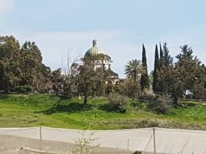 Israel Kirche auf dem Berg der Seligpreisung