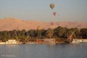 Ballonfahrt in den Sonnenaufgang