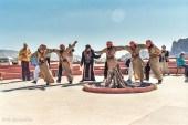 Tanz derBeduinen im Wadi Rum