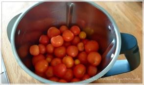 Der letzte Rest unserer nachgereiften Tomaten.