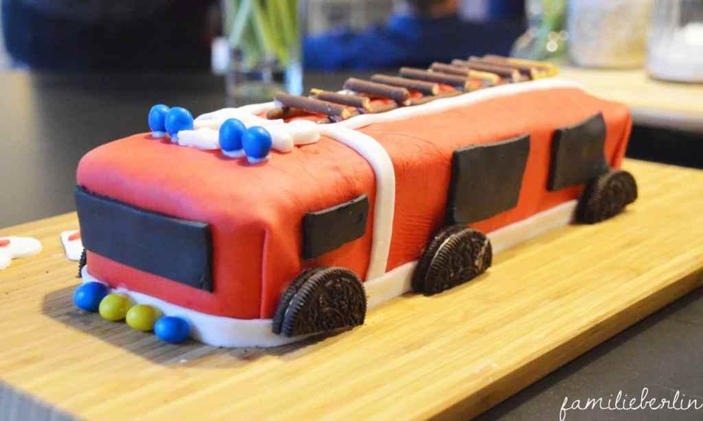 Torte, Kindergeburtstag, Kuchen, Feuerwehr, Rezepte, Backen, Kleinkind, Party, Muffins, Gugl