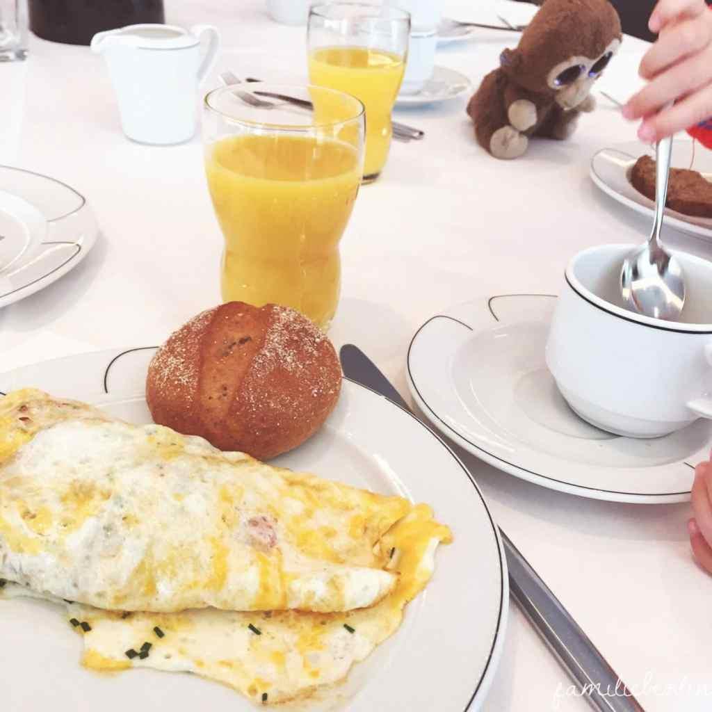 Hotel, Frühstück, Ei, Omlette