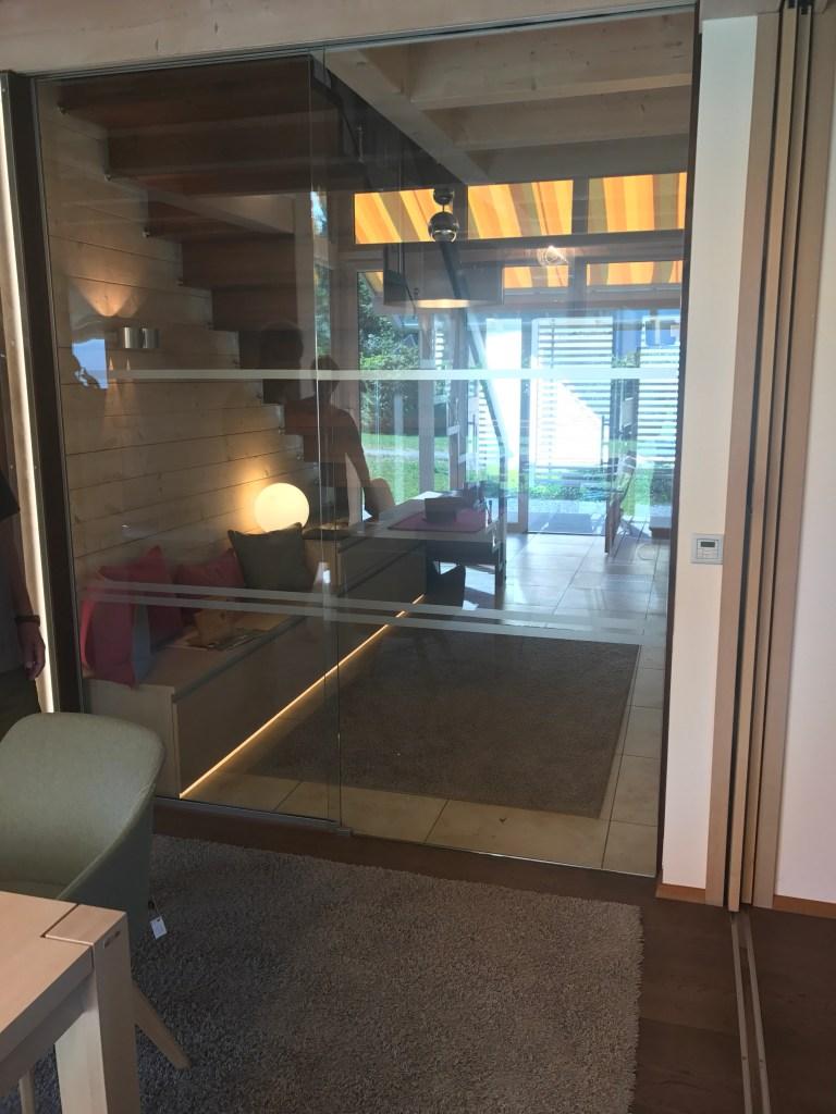 Glastür Zum Wohnzimmer Familie Epple - Wohnzimmer glastür