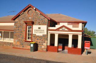 (C) Jule Reiselust: Postoffice in Roebourne, der öltesten Stadt West Australiens.
