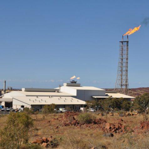 (C) Jule Reiselust: Erdgasgewinnung in Dampier