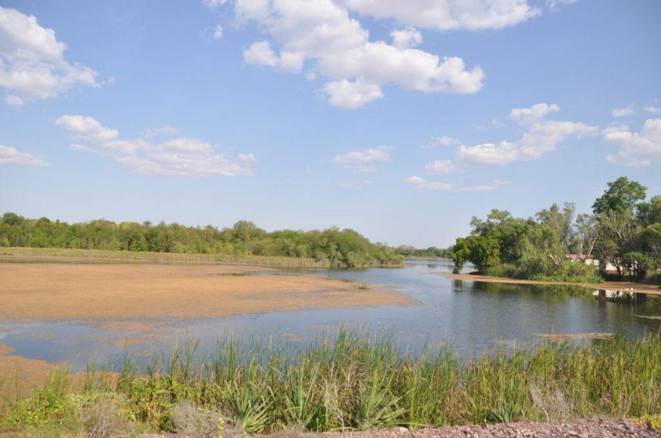 (C) Jule Reiselust: am Lake Kinunurra.