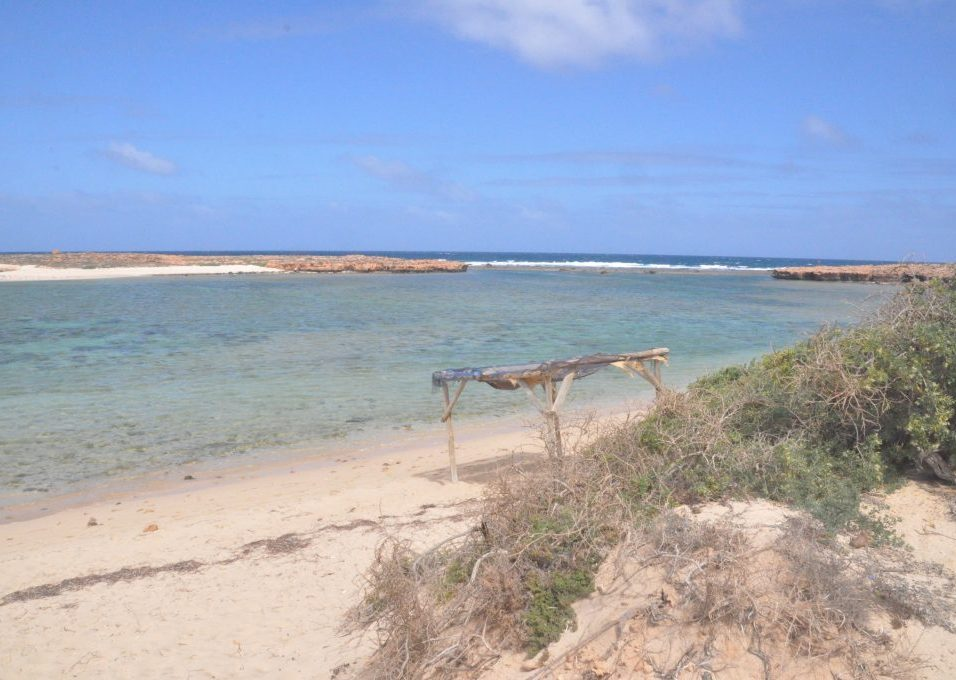 (C) Jule Reiselust: Strand am Aquarium bei Point Quobba.