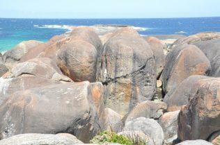 (C) Jule Reiselust: Elephant Rocks in der William Bay.