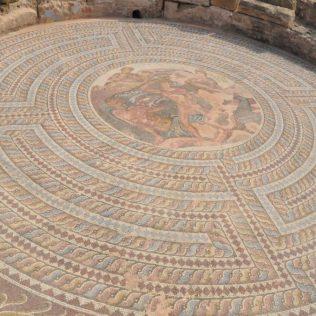 (C) Jule Reiselust: Mosaik im Haus des Theseus