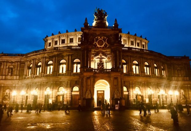 (C) Jule Reiselust: Semperoper in Dresden.
