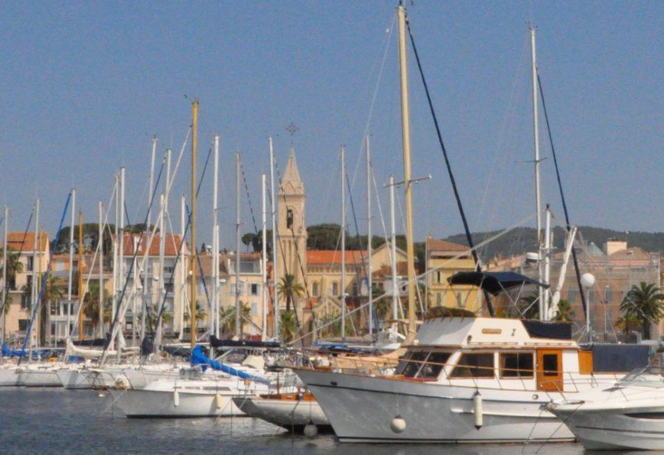 (C) Jule Reiselust: Hafen von Sanary-sur-Mer.